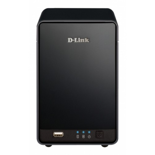 NVR CLOUD MY DLINK 1 A 9 CANAIS IP + 2SLOTS HD SATA + 1P 10/100/1000 + USB 2.0  - DNR-322L